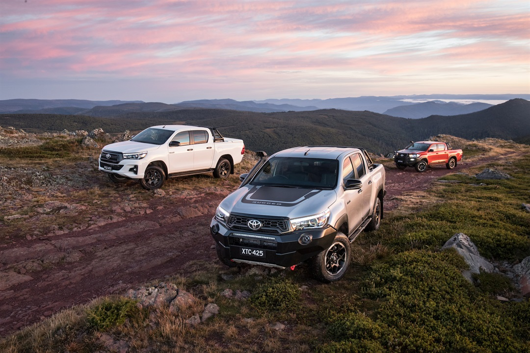 Introducing HiLux Rugged X, Rugged & Rogue