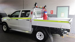 Toyota HiLux safe for the worksite