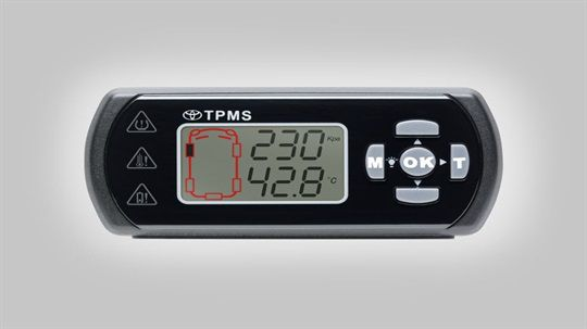 Tyre Pressure Monitoring System from New Town Toyota