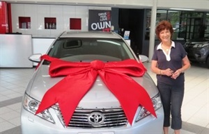 Taking Delivery of a new Toyota