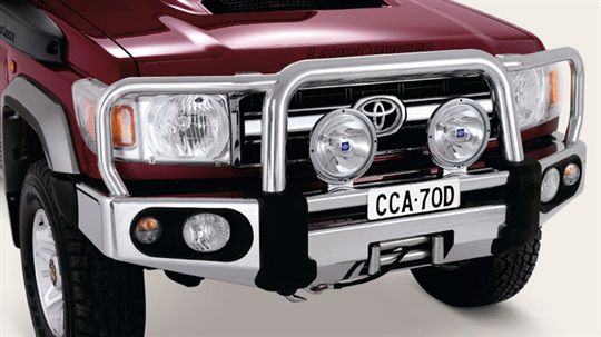 Bull Bars from New Town Toyota