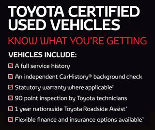 If You Buy A Toyota Certified Used Vehicle With Remaining Scheduled Logbook  Services, Youu0027ll Also Enjoy The Benefits Of Toyota Service Advantageu2021.